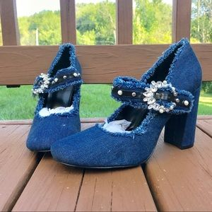 4/$25💖NWOT Nine West chunky heels